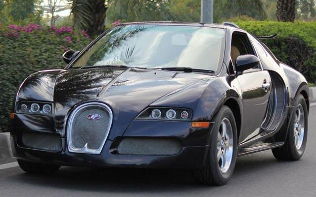 Fake Bugattis