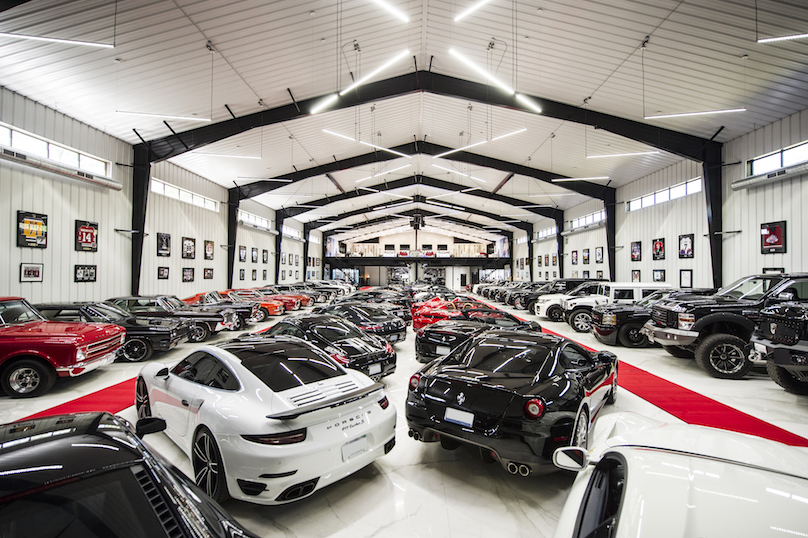 ultra luxury man cave houses one man 39 s multi million dollar car