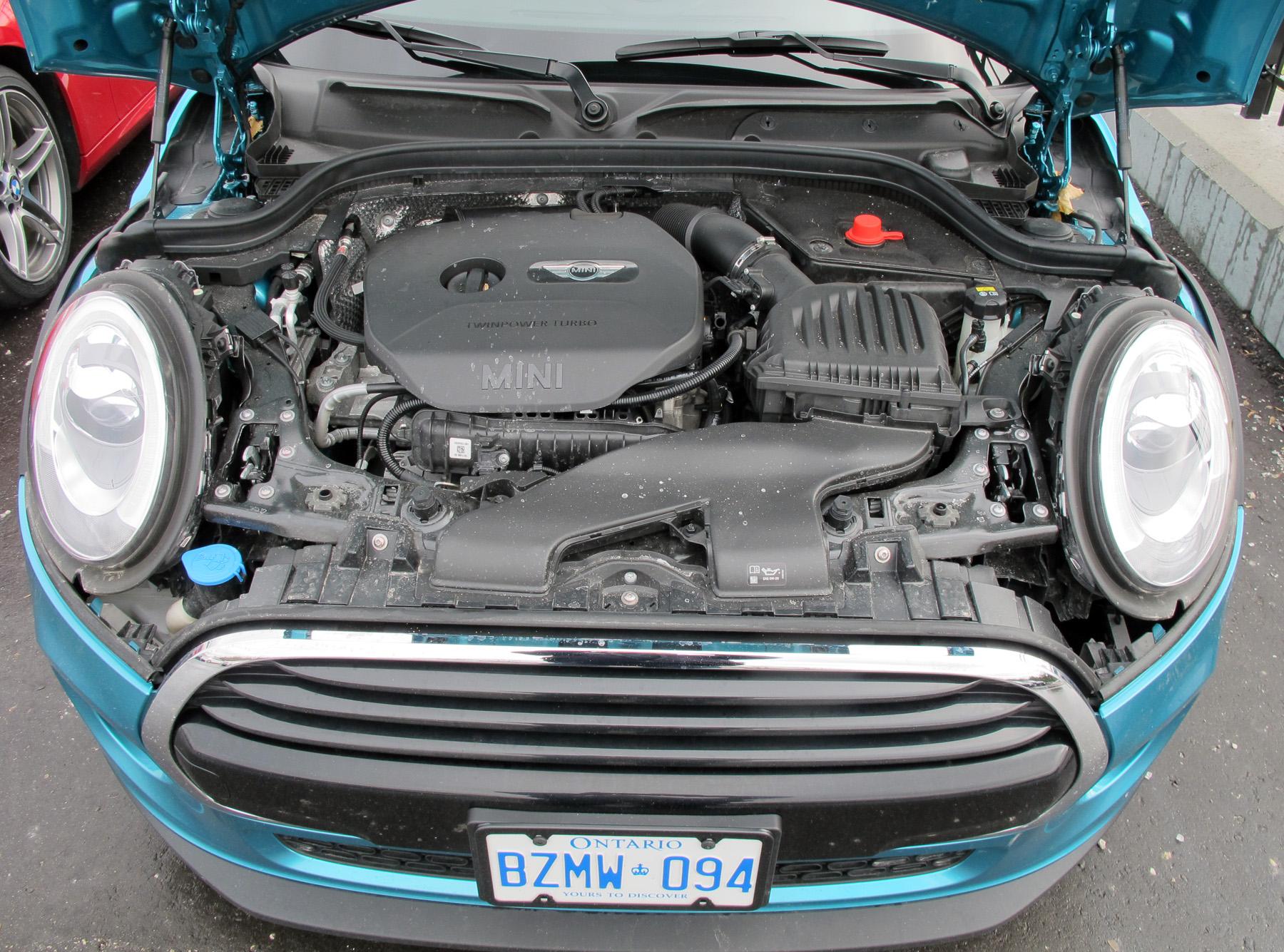 mini cooper engine