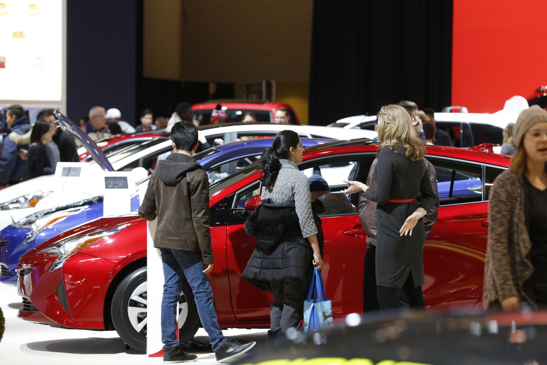 car-shopping trip