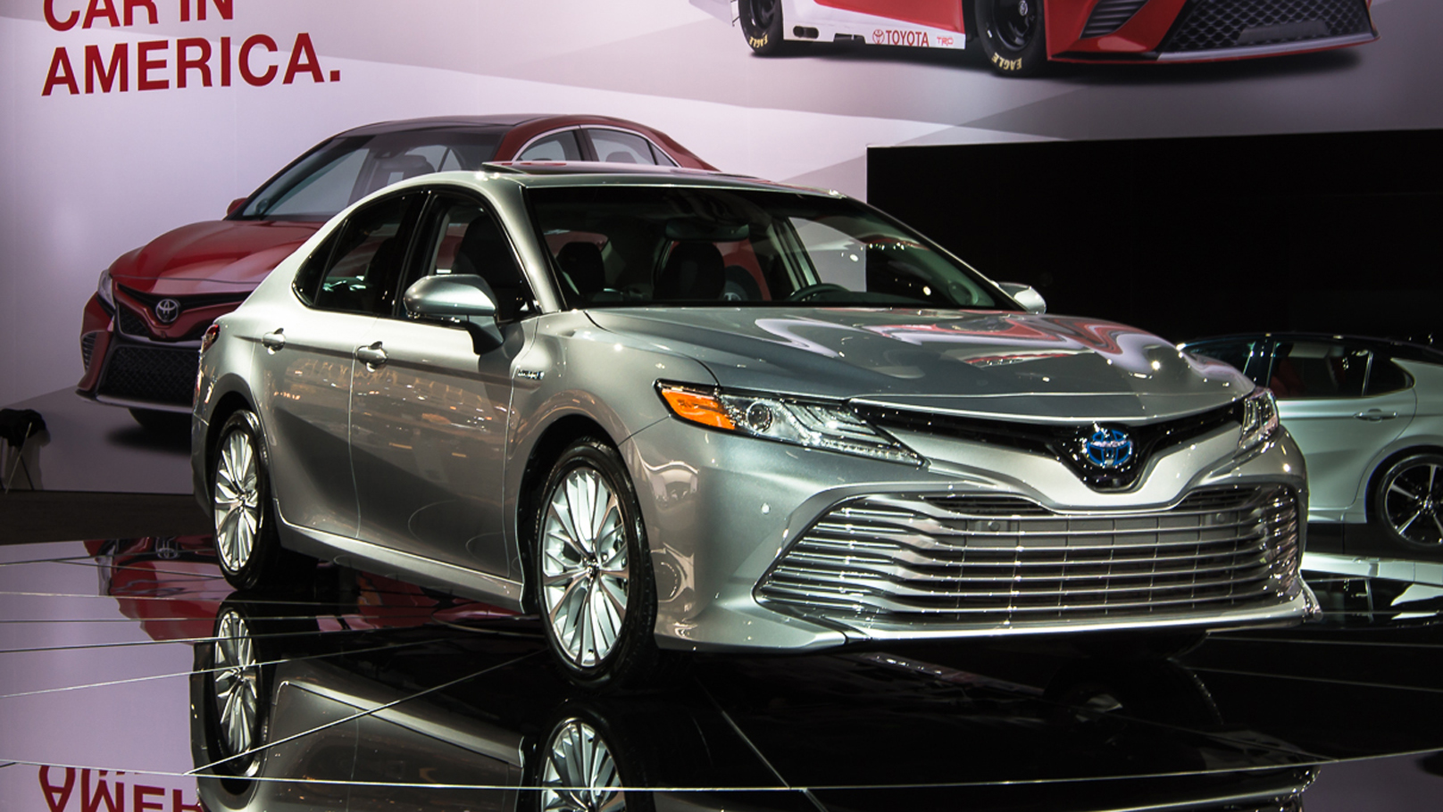 The 2018 Toyota Camry More Dynamic More Comfortable