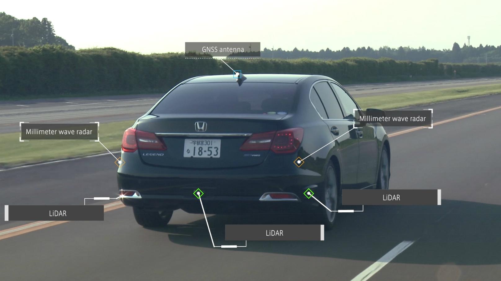 Honda Autonomous Driving