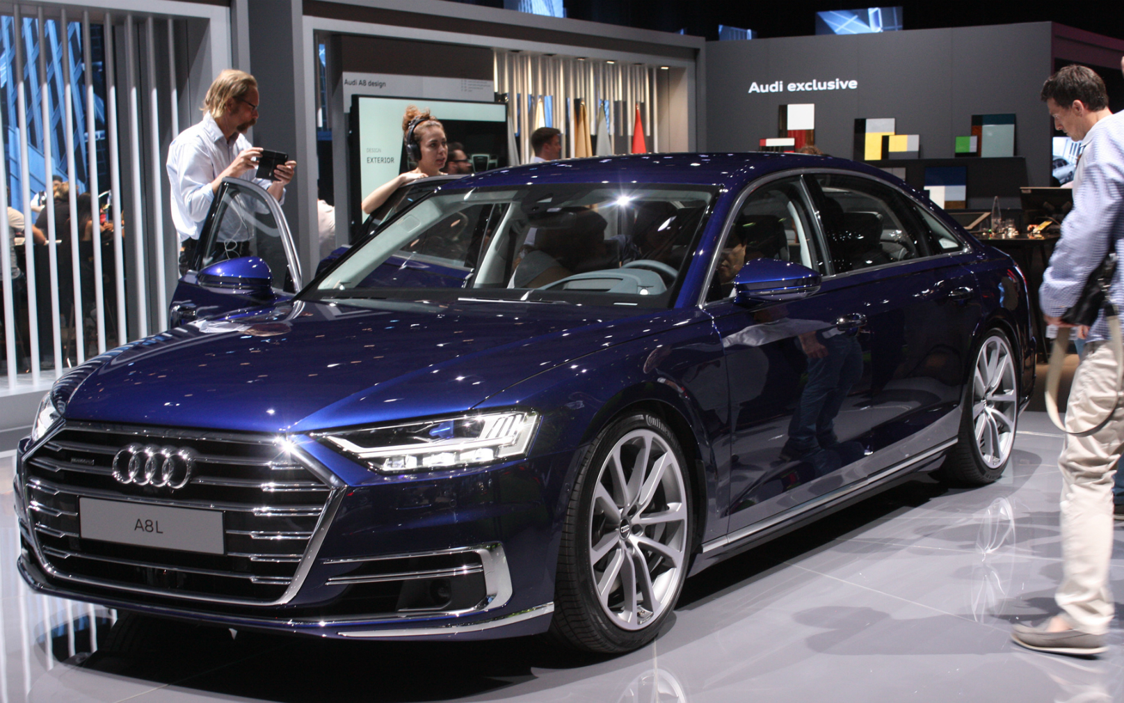 flagship A8 sedan