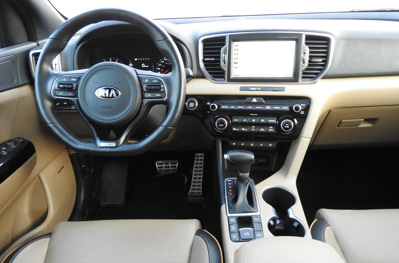 2017 Kia Sportage SX Review