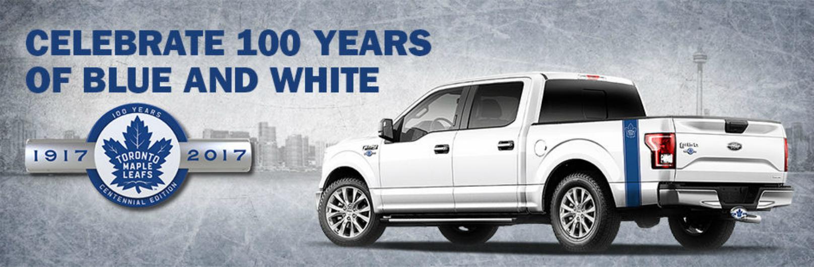 Toronto Maple Leafs Centennial Edition F-150
