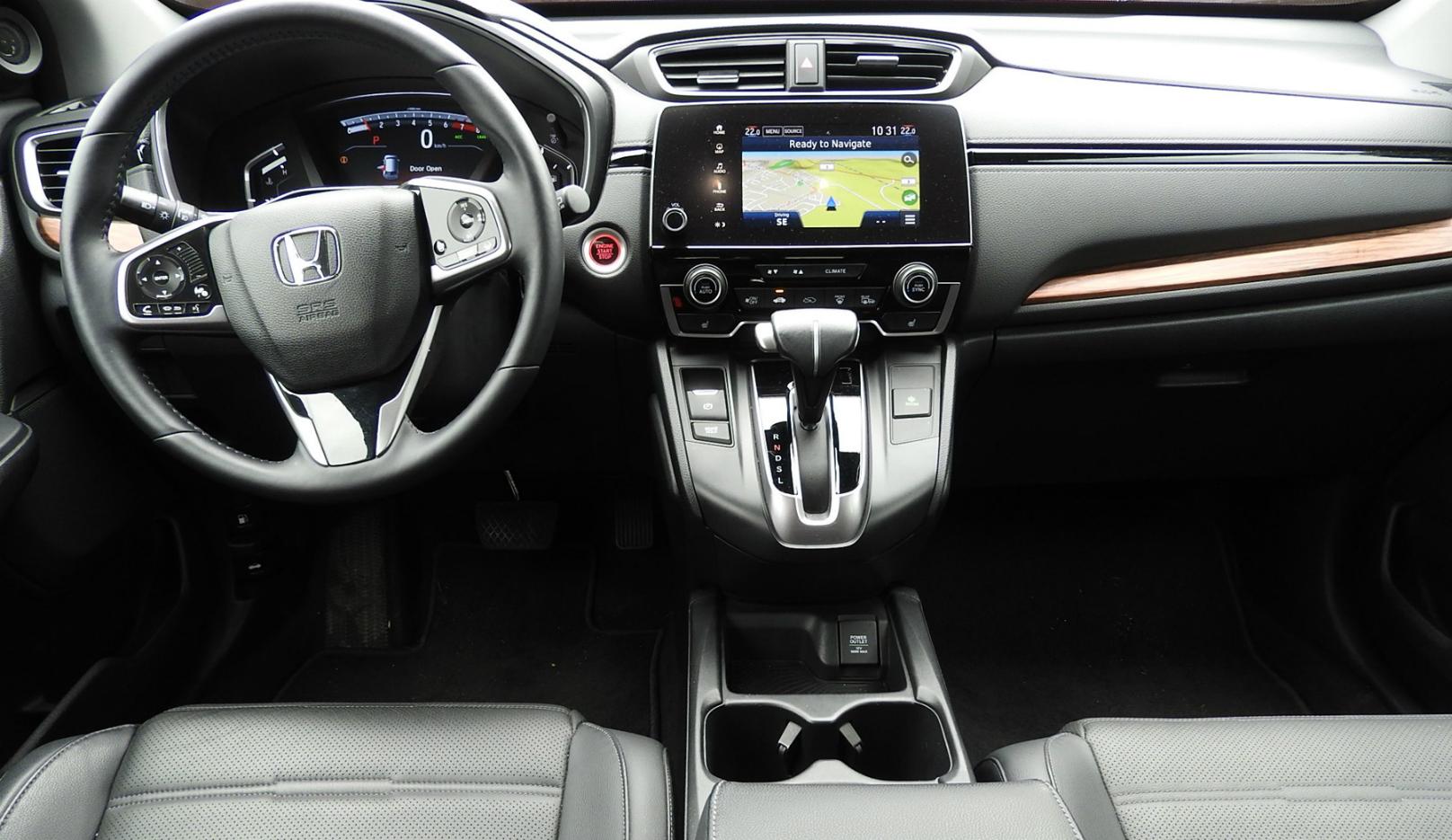 Honda Ups The Bar With 2017 Cr V