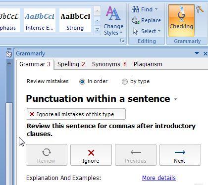 Grammarly offline