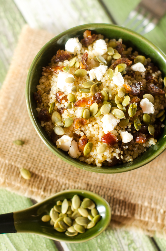 Sweet & Savory Quinoa Breakfast Bowl | Best of the Web