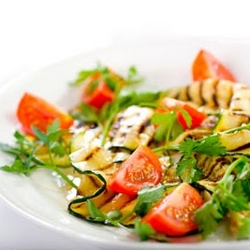 Image for Grilled Zucchini and Tomato Salad - 0 pts