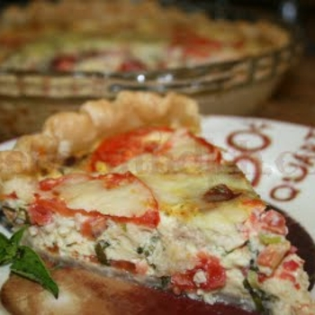Image for Fresh Tomato Quiche