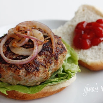 Image for Turkey Burgers with Zucchini
