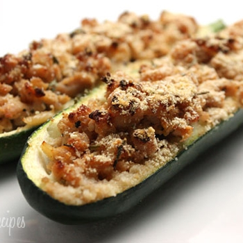 Image for Turkey Stuffed Zucchini