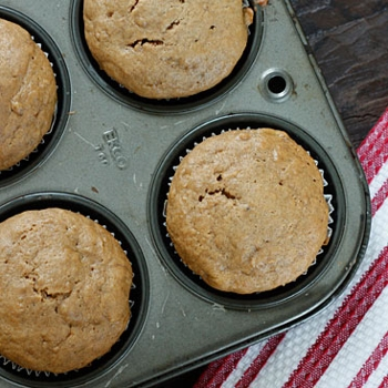 Image for Low Fat Peanut Butter Banana Muffins