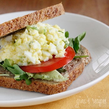 Image for Skinny Low-Yolk Egg Salad