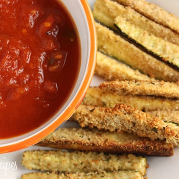 Image for Baked Zucchini Sticks
