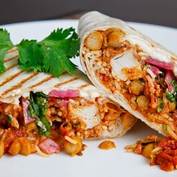Image for Butter Chicken Burritos