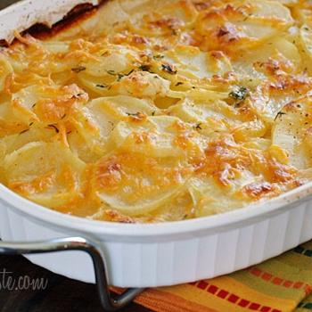 Image for Skinny Scalloped Potato Gratin
