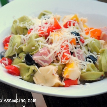 Image for Ham and Cheese Tortellini Pasta Salad