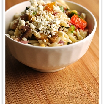 Image for Roasted Vegetable Orzo Salad