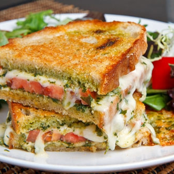 Image for Caprese Grilled Cheese Sandwich