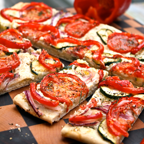 Image for Roasted Veggie Flat Bread