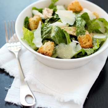 Image for Chicken Caesar Salad with Homemade Croutons