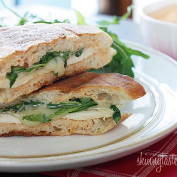 Image for Chicken Panini with Arugula, Provolone and Chipotle Mayonnaise