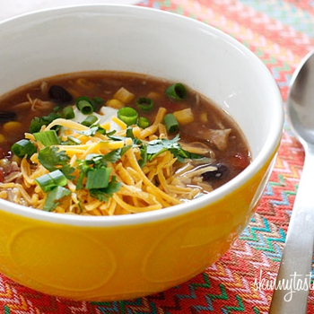 Image for Crock Pot Chicken Enchilada Soup