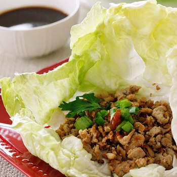 Image for Asian Chicken Lettuce Wraps