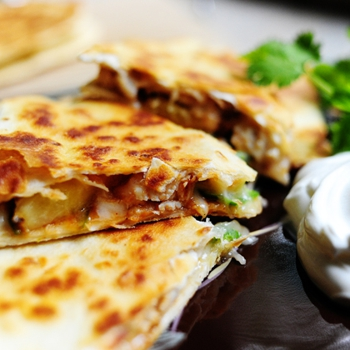 Image for Grilled Chicken & Pineapple Quesadilla