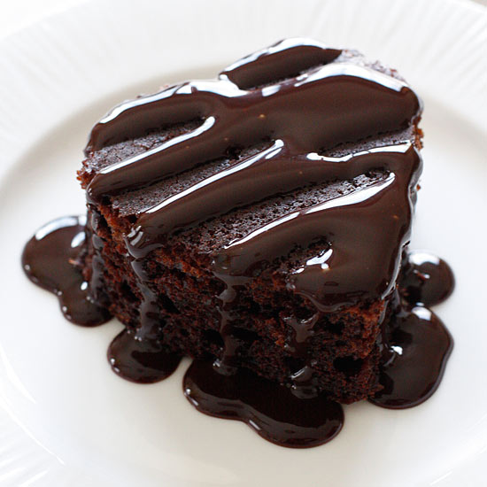 Image for Homemade Skinny Chocolate Cake