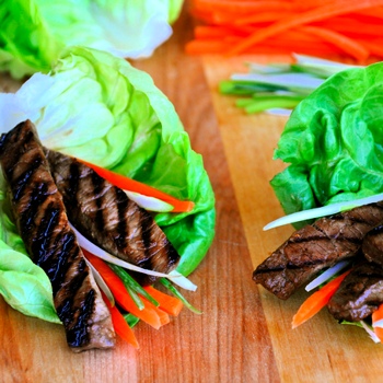 Image for Asian Beef Lettuce Cups