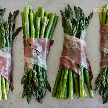 Image for Roasted Prosciutto Wrapped Asparagus Bundles