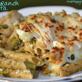 Image for Pesto Ranch Cheesy Pasta Bake