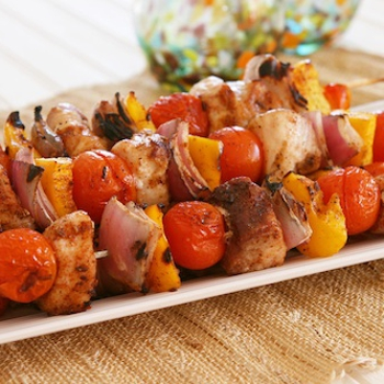 Image for Mahi Mahi and Vegetable Kabobs