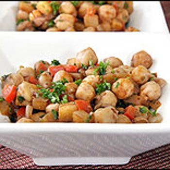 Image for Moroccan Chickpeas With Apples