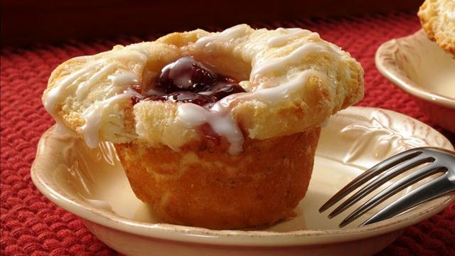 Image for Cherry Danish Biscuit Cups