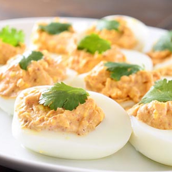 Image for Chili Spiced Deviled Eggs