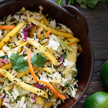 Image for Asian Cabbage Mango Slaw