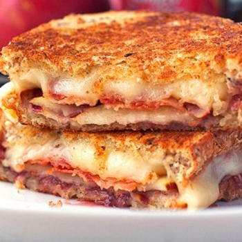 Image for Bacon, Pear & Raspberry Grilled Cheese