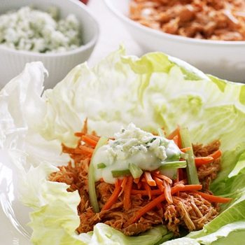 Image for Crock Pot Buffalo Chicken Lettuce Wraps