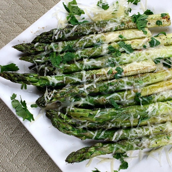 Image for Sauteed Asparagus with Butter and Parmesan