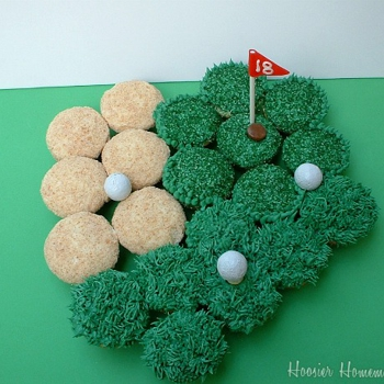 Image for Golf Cupcakes