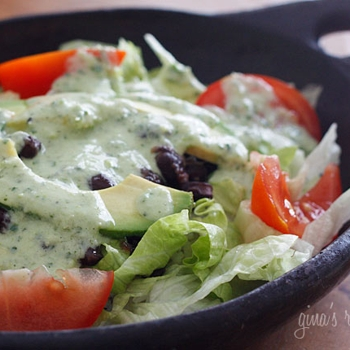 Image for Creamy Cilantro Tomatillo Dressing