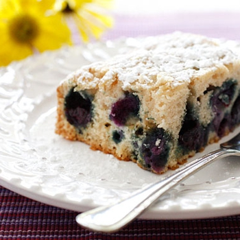 Image for Easy Blueberry Buttermilk Cake