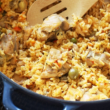 Image for Mom's Spanish Chicken and Rice