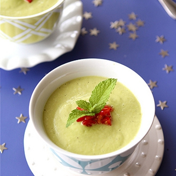 Image for Chilled California Avocado Soup with Coconut Milk Recipe