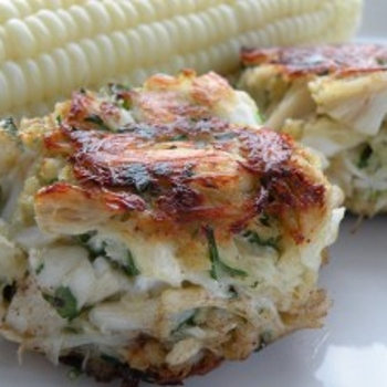 Image for Pure and Simple Crab Cakes