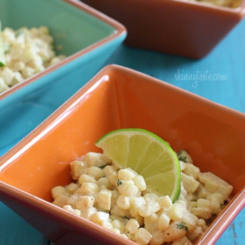 Image for Warm Mexican Corn Salad