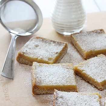 Image for Skinny Honey Lemon Bars